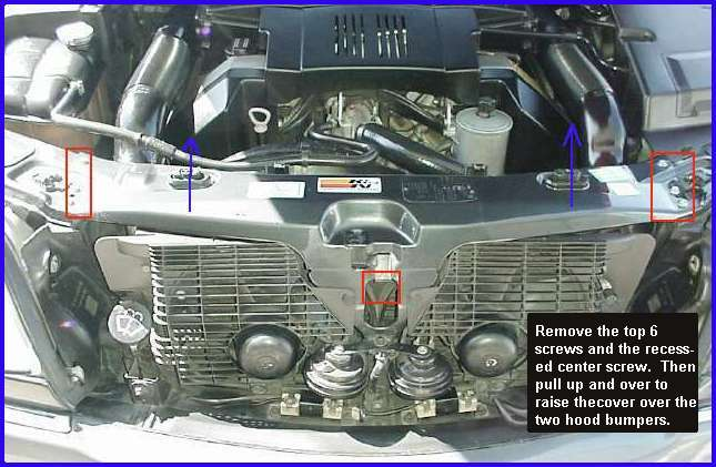 Service manual removing 1999 daewoo leganza fan shroud for Mercedes benz coolant autozone